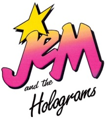 Dolls On A Whim Jem and the Holograms logo