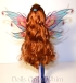 Winx Club Jakks Pacific Bloomix Bloom hair back