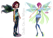 Jakks Pacific Winx Club Tecna Bloomix comparison 2