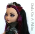 Mattel Ever After High Raven Queen Rebel Original Outfit head makeup 7